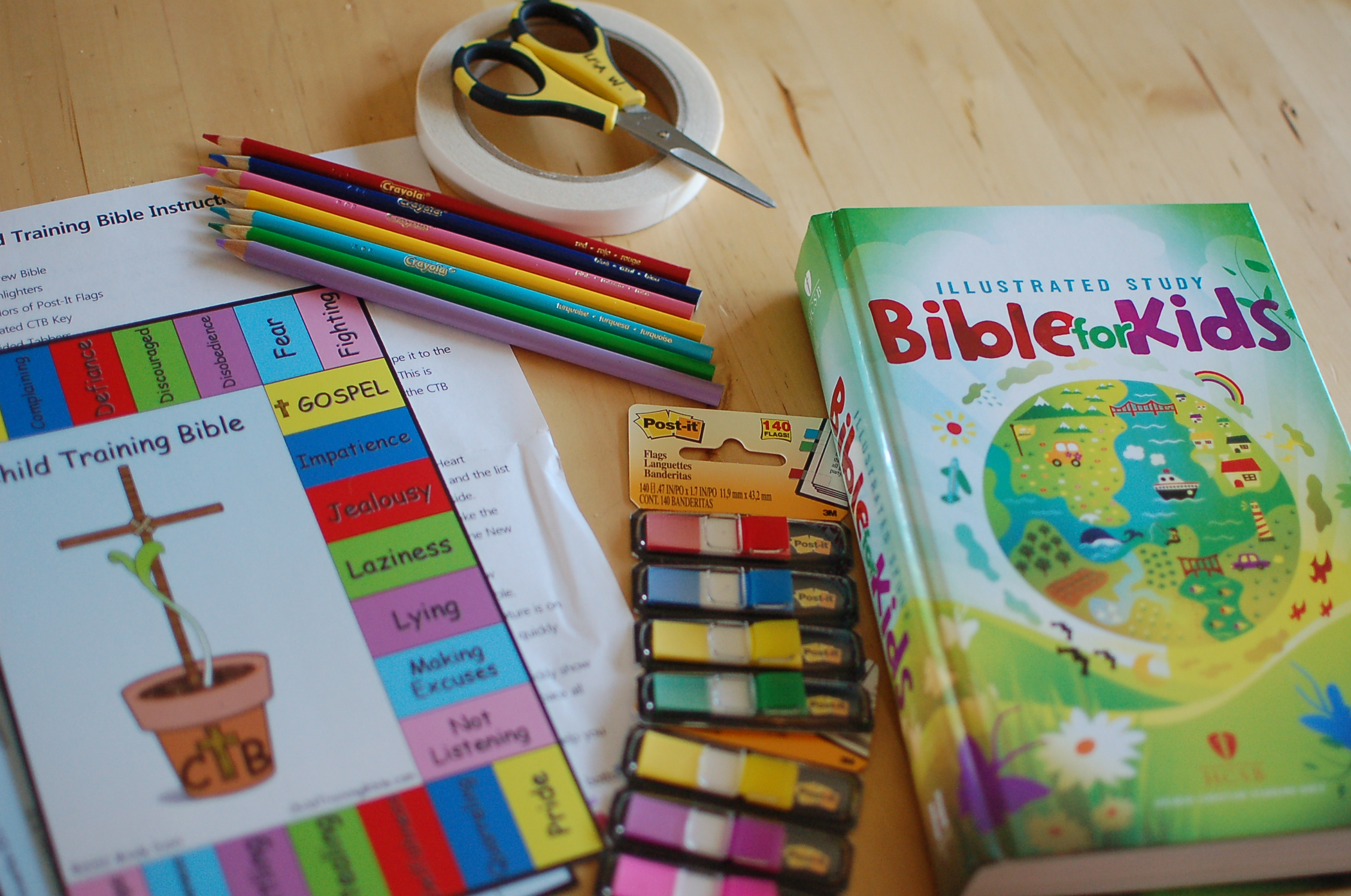 new child training and discipleship tool…
