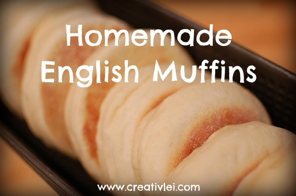 homemade English muffin recipe