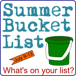 Summer Bucket List 2012