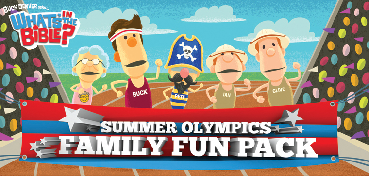 Olympic Family Fun Pack from What's in the Bible?