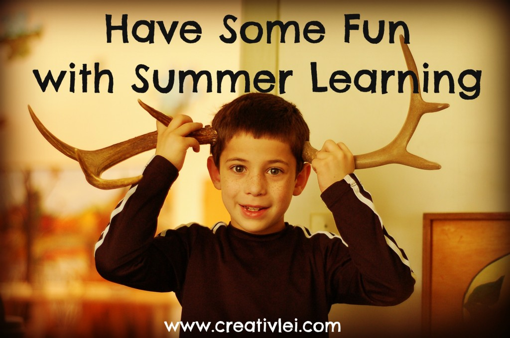 have fun with summer learning