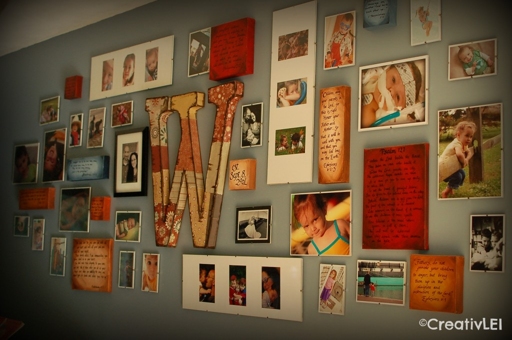 Create A Family Collage Wall With These 2 Hands Creativlei