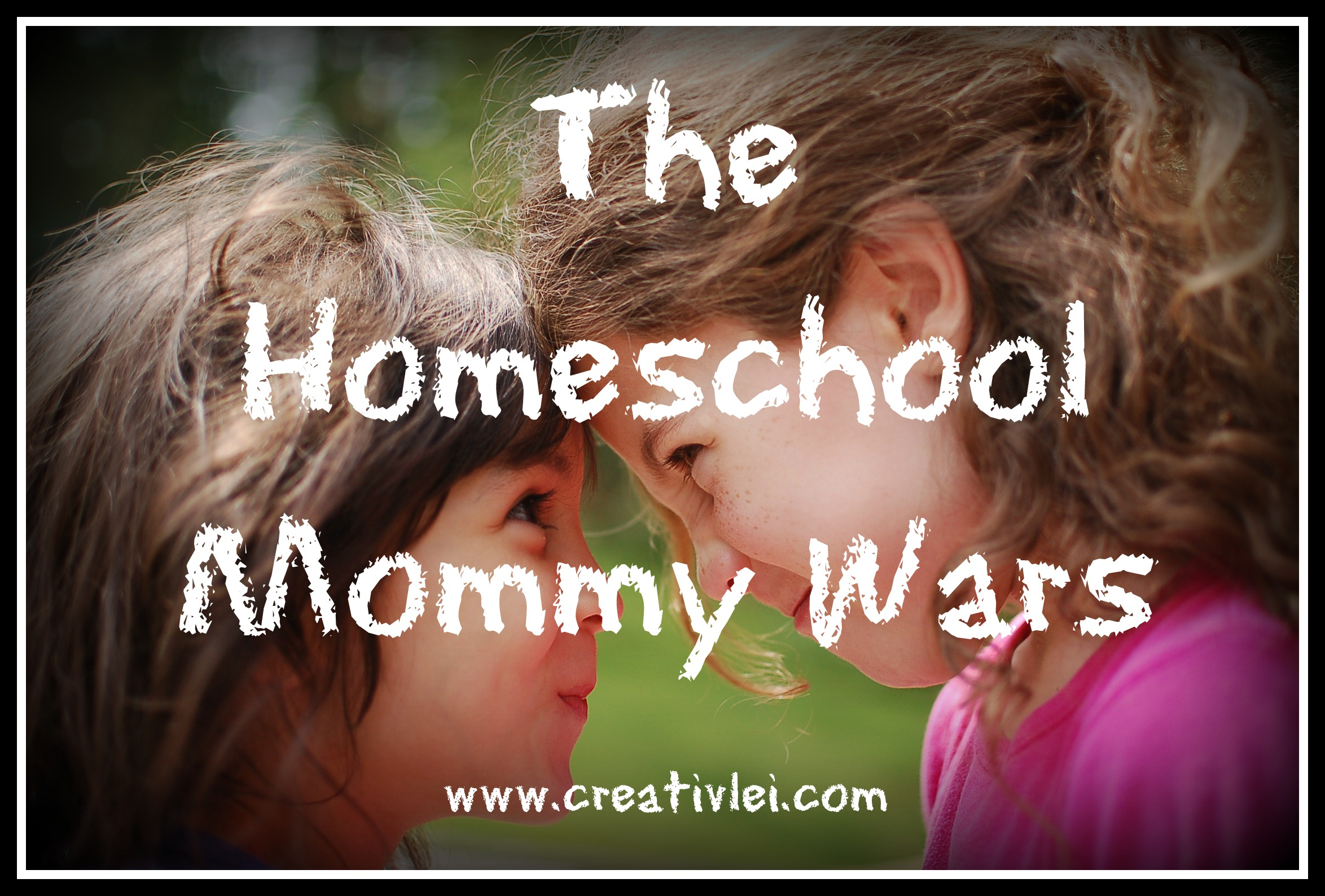 The Homeschool Mommy Wars