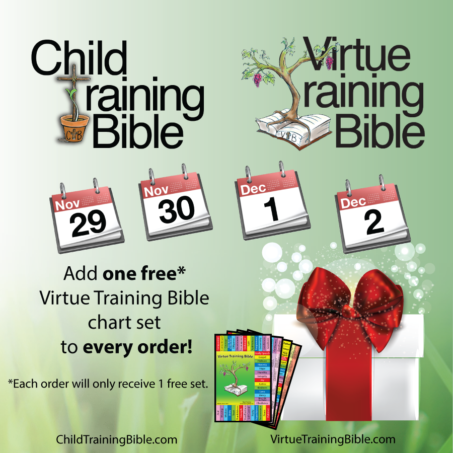 Child_Virtue Training Bibles