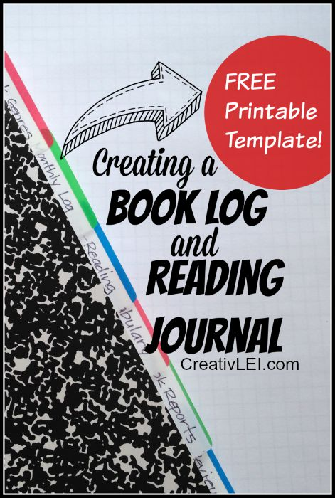 Creating Book Logs and Reading Journals