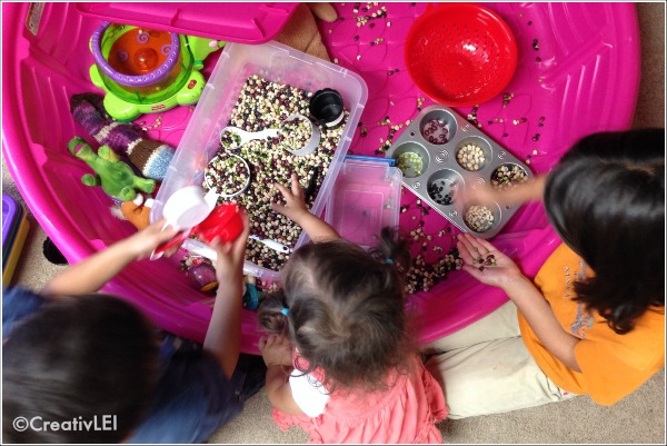 All ages enjoy sensory play