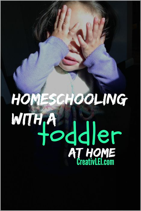 How can I homeschool with a toddler at home who doesn't napp