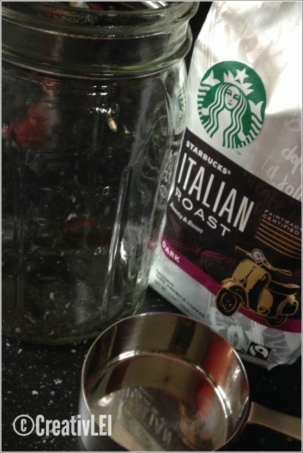 Just 2 ingredients required for easy cold brew coffee