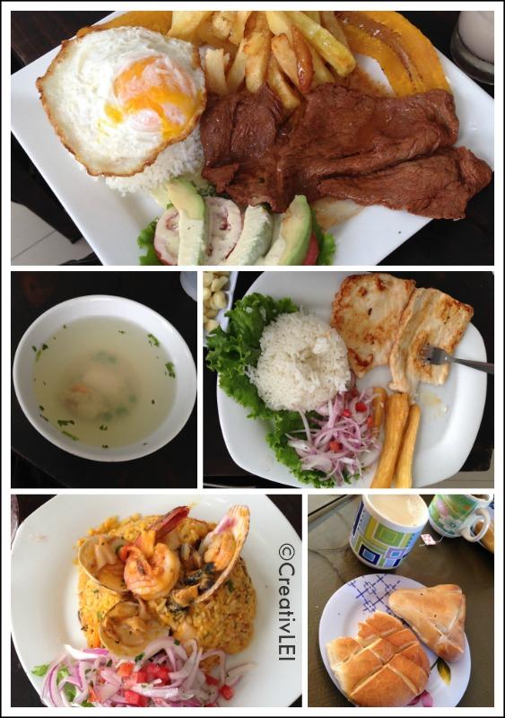 Dinner in Lima