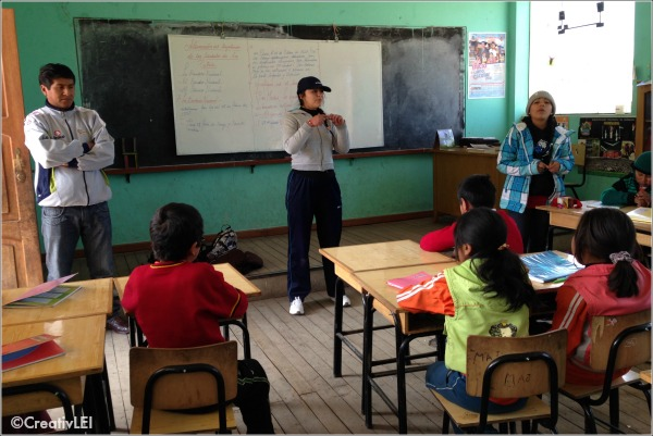 classroom in chupa