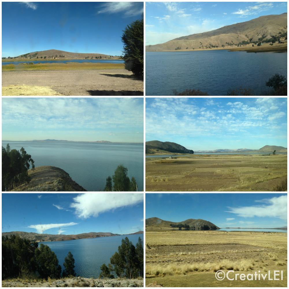 the trip between Juliaca and Chupa