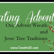 Celebrating Advent  CreativLEI.com