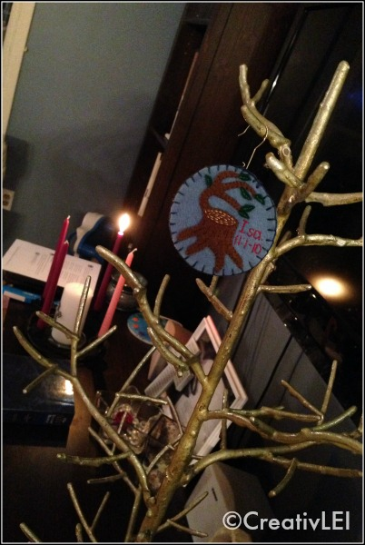 Jesse Tree and Advent Wreath