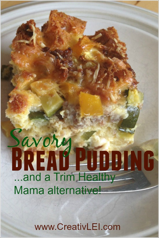 #TuranoHack: Savory Bread Pudding