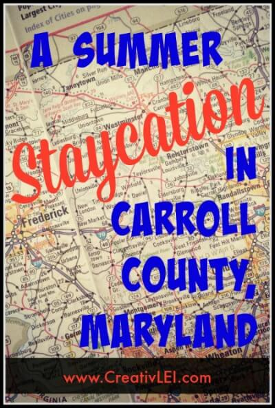 Summer Vacation in Carroll County Maryland