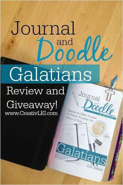 Journal and Doodle Galatians bible study review CreativLEI.com