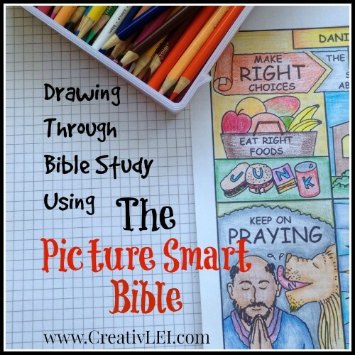 Drawing for Bible Study using The Picture Smart Bible