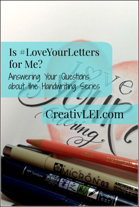 Anyone can learn creative lettering. I'll show you some of the basics to find your style. | CreativLEI.com