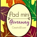 Members of the Inspired Bloggers Network are giving away 2 iPad minis! CreativLEI.com