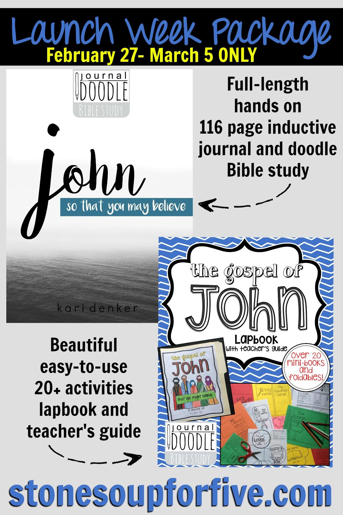 Launch Week Journal and Doodle John