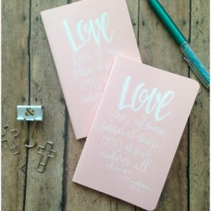 Love bears all things, believes all things, hopes all things, endures all things. 1 Corinthians 13:7 by CreativLEI.com