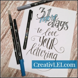 31moredays-to-loveyourlettering-with-creativlei-com