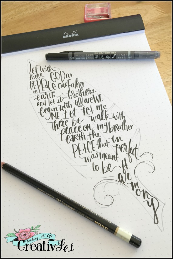 feather-calligram-let-there-be-peace-on-earth-lyrics-art-by-lisa-walters-creativlei-com-for-loveyourlettering-part-2