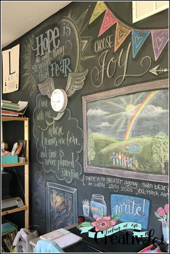 lettering-and-art-on-a-chalkboard-wall-by-lisa-of-creativlei-com