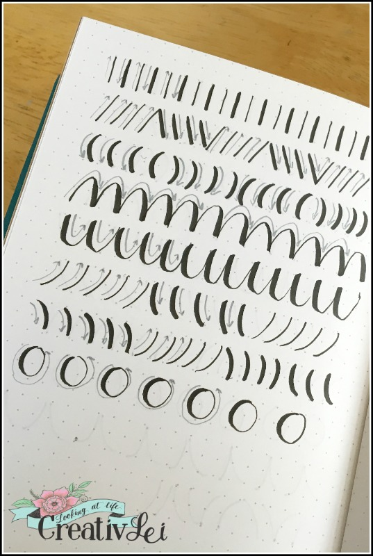 penmanship-drills-with-a-brush-pen-loveyourlettering-part-2-with-creativlei-com